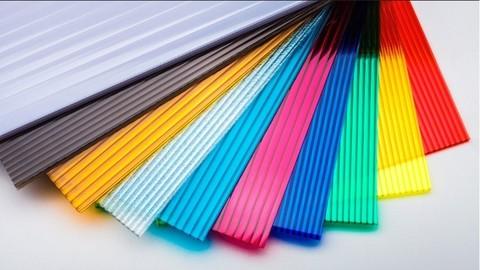 СПК (сотовый поликарбонат) 4 мм цветной