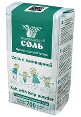 Гарнец, Водорослевая соль смесь соль с фукусом, 700гр (без глютена)