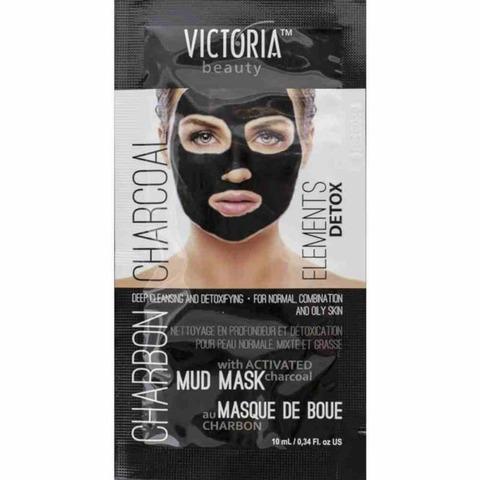 Очищающая маска с активированным углем, 10 мл.