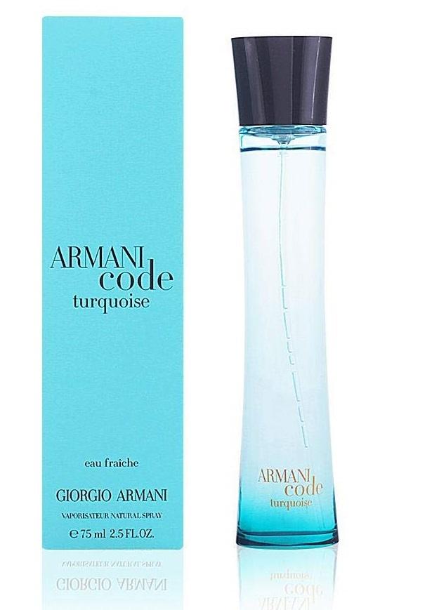Giorgio Armani Code Turquoise for Women Eau Fraiche EDT