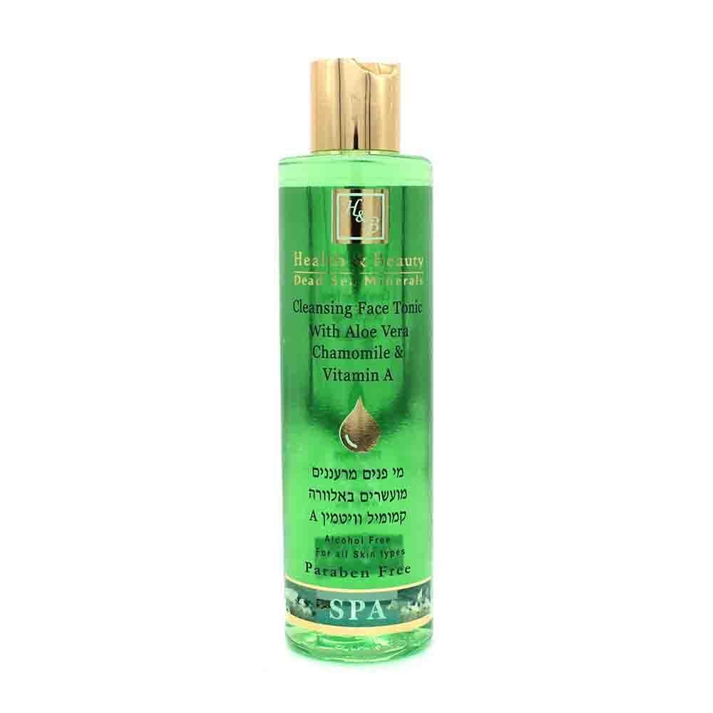 Тоник для лица очищающий Face Toner with Aloe Vera Chamomile & Vitamin A