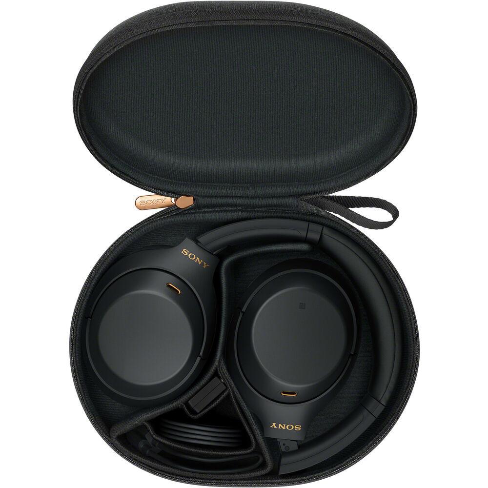 Чехол для наушников Sony WH-1000XM4 чёрного цвета