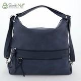 Сумка Саломея 387 итальянский синий (рюкзак)