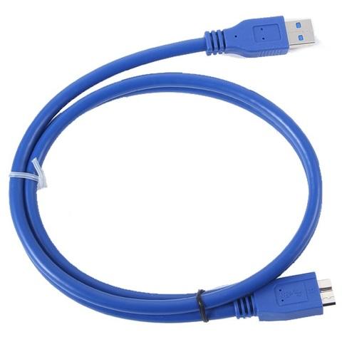 Кабель для передачи данных 5Gbp/S внешний жесткий диск 1.5 м USB 3.0 Micro