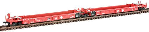 Секция контейнеровозов Walthers (5) Santa Fe