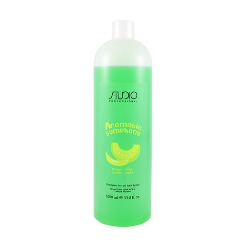 Шампунь для всех типов волос Банан и Дыня 1000 мл. Kapous