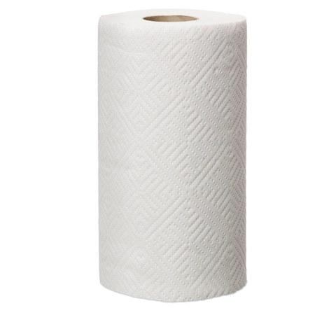 Полотенце бумажное двухслойное, с перфорацией