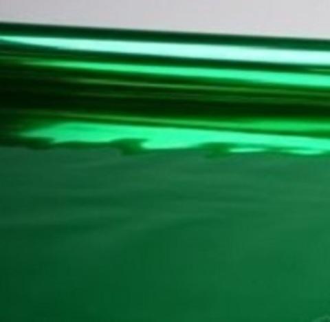 Пленка металлизированная (размер: 70см х 10 ярдов) Цвет: зеленый