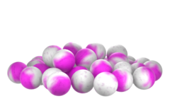 Бойлы насад. плав. двух цв. Sonik Baits SPICES-PLUM Fluo Pop-ups 14мм 90мл