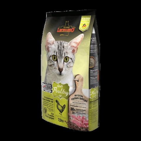 Leonardo Adult Poultry GF Сухой корм для кошек с чувствительным пищеварением с птицей (беззерновой)