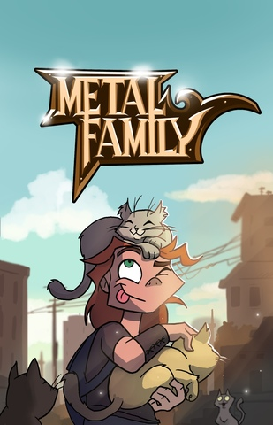 Блокнот Metal Family