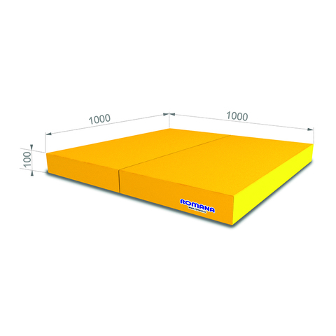 РОМАНА Мягкий щит (Мат) 1000*1000*100, в 2 сложения