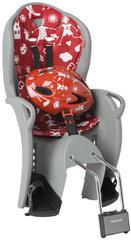 Детское велокресло со шлемом Hamax Kiss Safety Package Medium 551058 Grey/Red