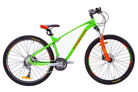 велосипед Corto FAST 2020 зеленый