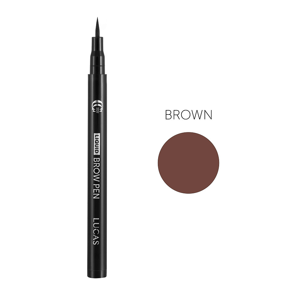 Фломастер для бровей CC Brow Liquid Pen Brown