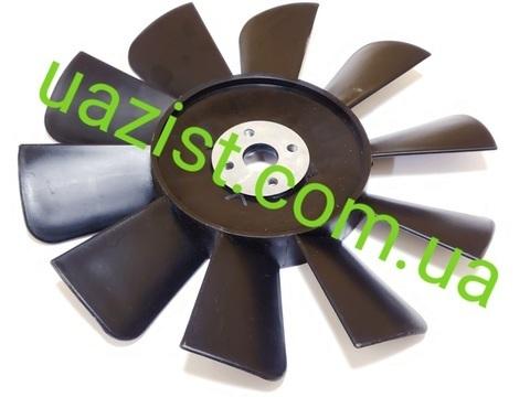 Крыльчатка (вентилятор) Уаз 452, 469 на 10 лопастей