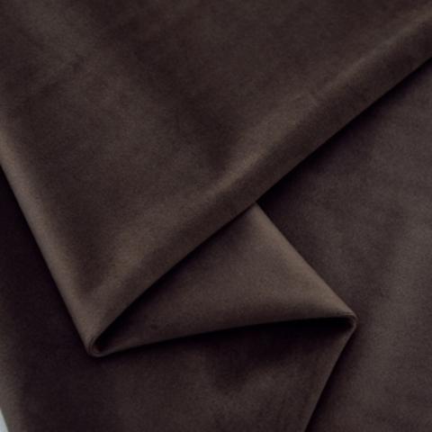 Бархат матовый стрейч, ворс 0,5 мм., коричнево-серый 32 (выбрать  размер)