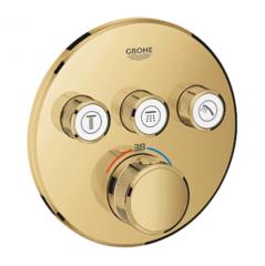 Термостат для душа встраиваемый на 3 потребителя Grohe Grohtherm SmartControl 29121GL0 фото