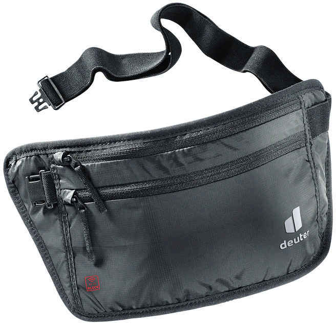 Новинки Кошелек на пояс Deuter Security Money Belt II RFID Block (2021) 3950921-7000-SecurityMoneyBeltII_RFIDBLOCK_black-D-00.jpg