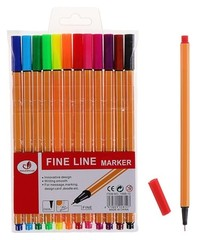 Flomaster \ Фломастер Fine Line 12 rəng
