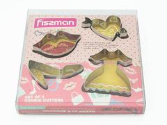 8568 FISSMAN Формы для вырезания печенья 4 шт