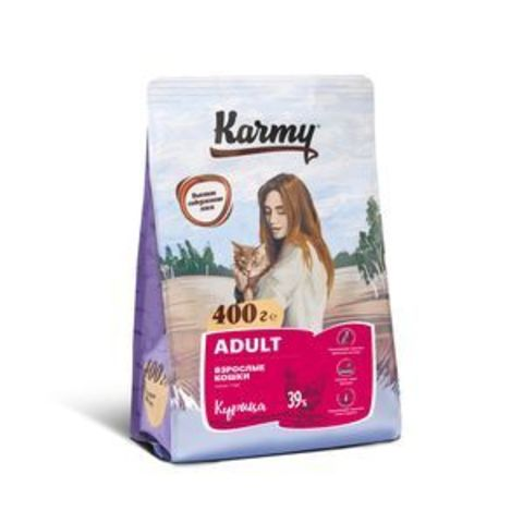 Karmy Эдалт Курица 0,4кг.
