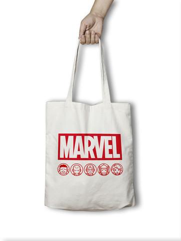 Хлопковая сумка Мстители Kawaii