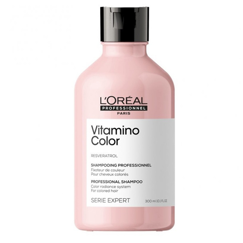 L'Oreal Professionnel Vitamino Color: Шампунь-фиксатор цвета Витамино Колор (Vitamino Color Shampoo), 300мл/1.5л