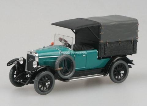 Laurin & Klement 110 Van 1927 blue-green Abrex 1:43
