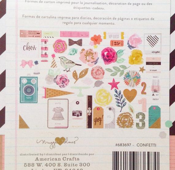 Набор высечек Confetti by Maggie Holmes