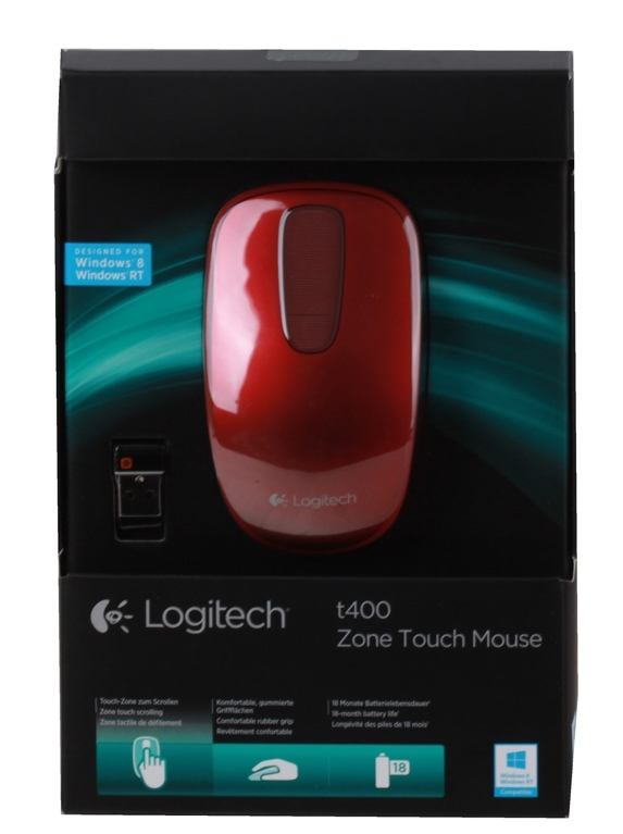 LOGITECH T400 Touch Red Velvet