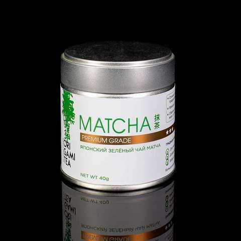 Японский чай Матча premium grade, 40 гр.