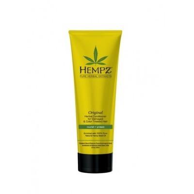 Hempz Hair Care: Кондиционер Оригинальный для поврежденных и окрашенных волос (Original Herbal Conditioner For Damaged & Color Treated Hair), 265мл/1л