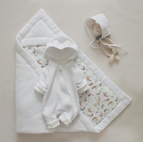 Одеяло из муслина