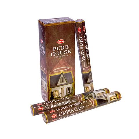 Палочки ароматические благовония HEM Чистый дом Pure House, 20 шт