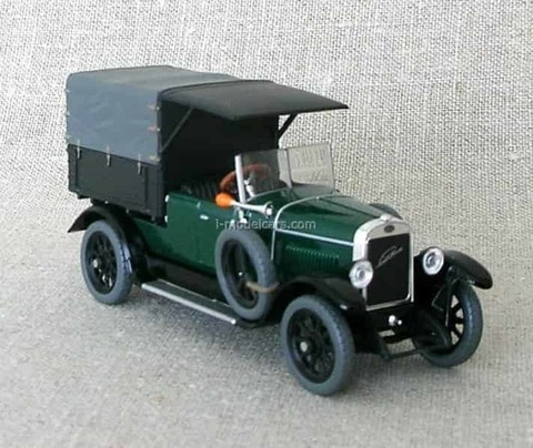 Laurin & Klement 110 Van 1927 Moss green Abrex 1:43