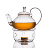 Заварочный чайник 650 мл с подставкой подогрева