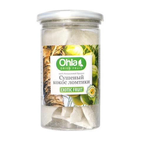 Натуральный сушеный кокос Ohla, 300 г.