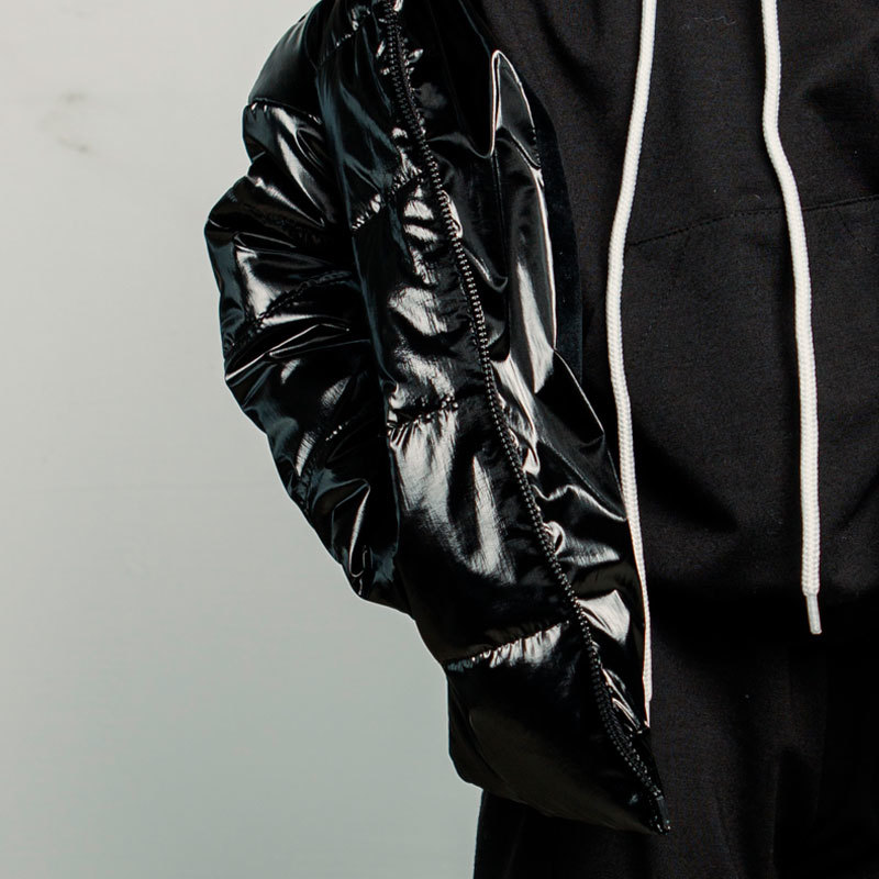 Демісезонна дитяча куртка в чорному кольорі для хлопчика