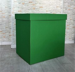 Коробка для шаров (Зеленая) 60*80*80 см.