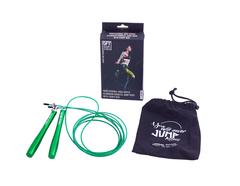 Скакалка тренировочная Original FitTools профессиональная с алюминиевыми рукоятками - 2