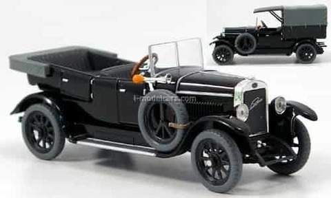 Laurin & Klement 110 Pick-up 1927 black Magic Abrex 1:43