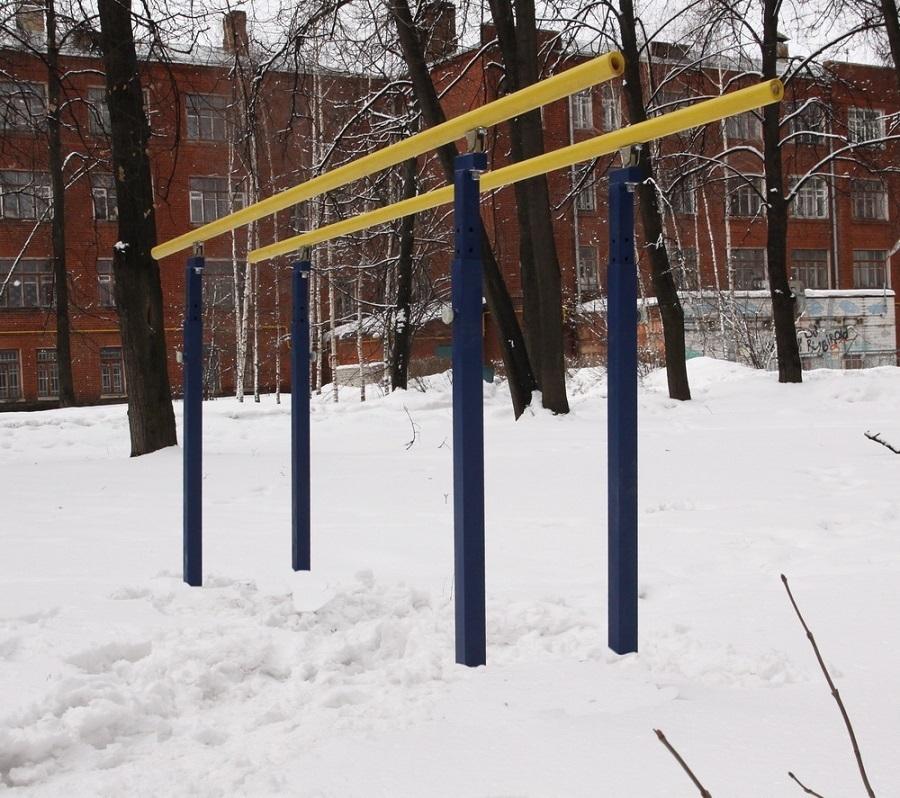 Брусья гимнастические уличные бетонируемые (с изменяющейся высотой)