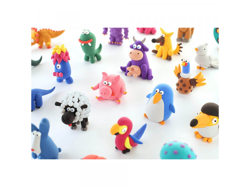 Пластилин залипаки HEY CLAY Животные ANIMALS