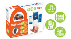 Автосигнализация StarLine S96 v2 BT 2CAN+4LIN 2SIM GSM