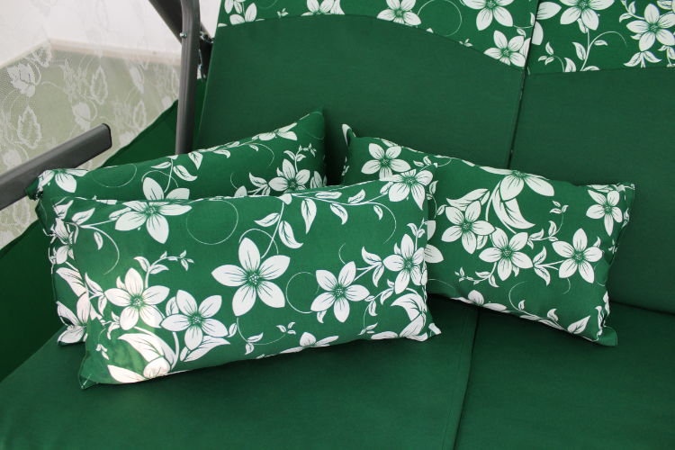 Артемида зеленая подушки