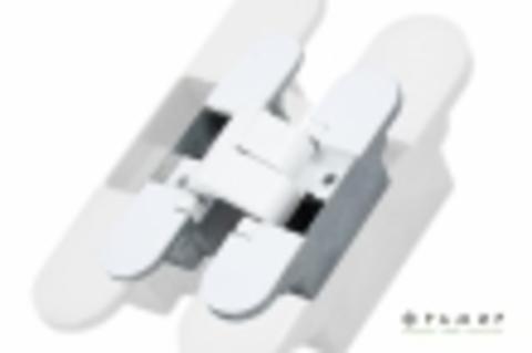 Скрытая усиленная петля Фрамир W Белый