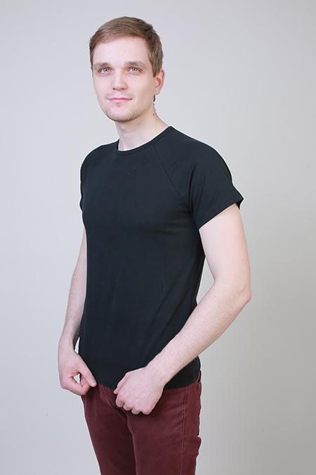 Выкройка мужской футболки с рукавом реглан фото