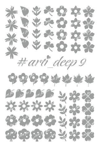 Трафарет Arti Deep № 09
