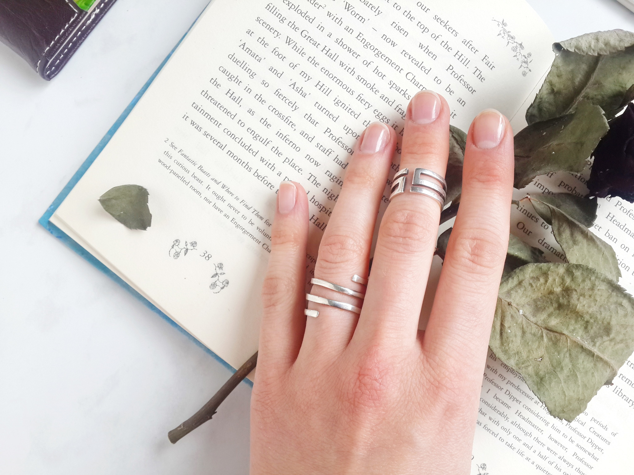 Ring Labyrinth, Sterling Silver